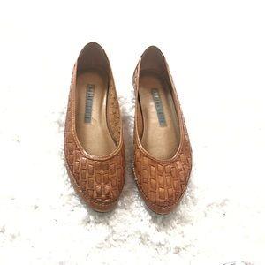 Amanda Smith vintage leather woven f…
